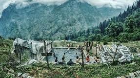 Visit kheerganga trek which is Beautiful Destination In the Parvati Valley